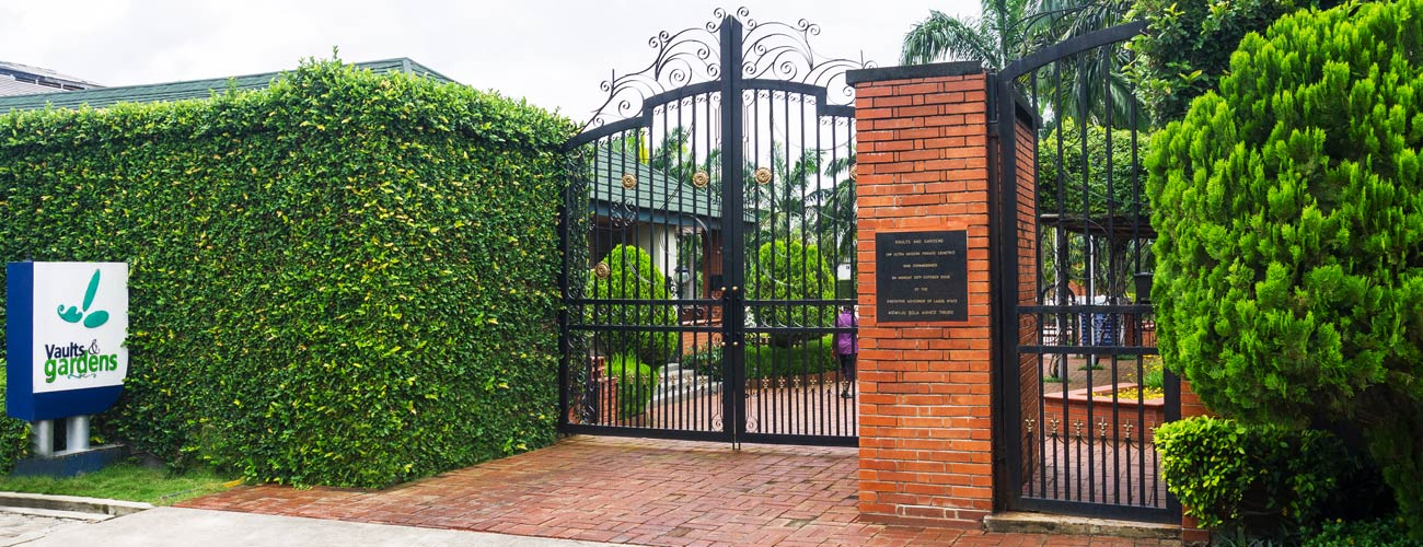 Private cemetery Location in Nigeria