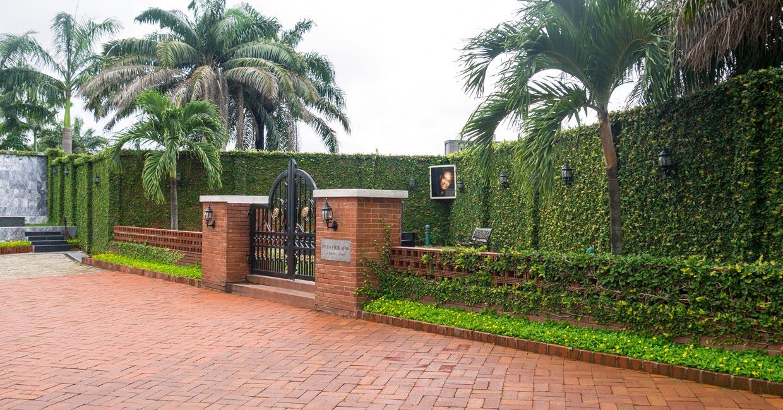 Cemetery in Nigeria