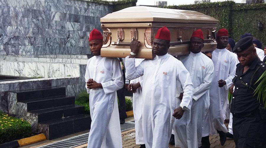 Disu Ajibola Burial at Vaults and Gardens