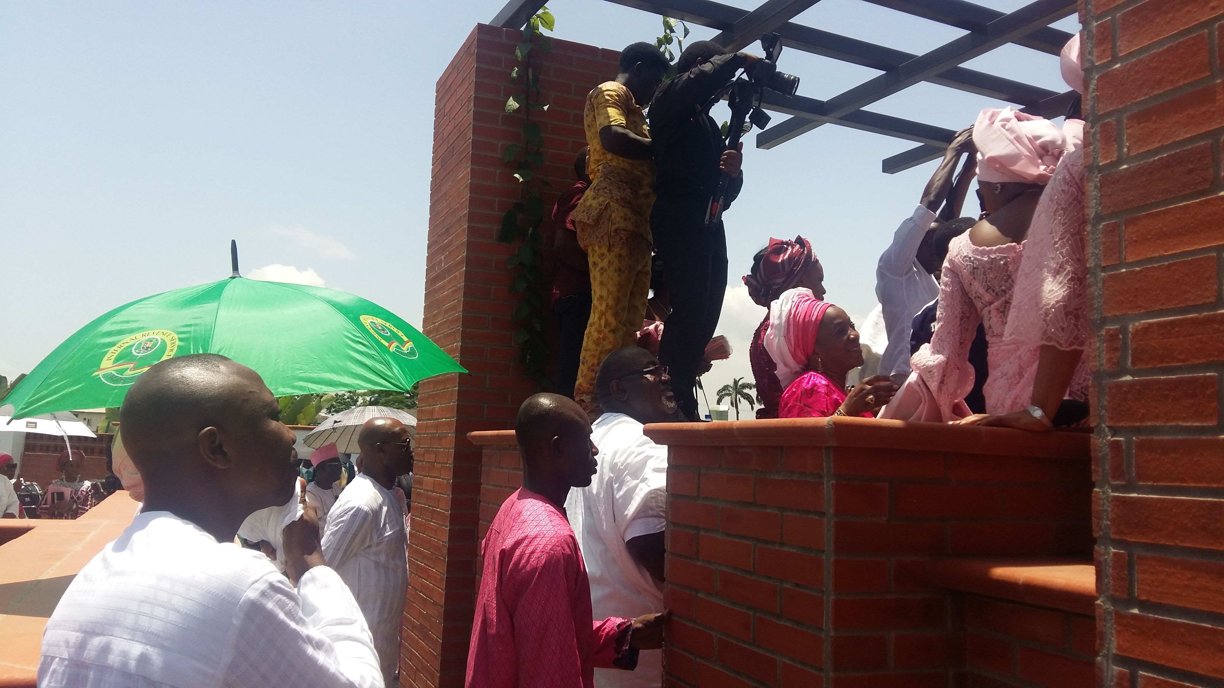 Mrs Molade Okoya Thomas Burial at Vaults and Gardens